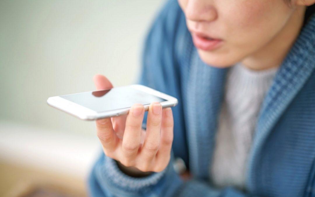 reconnaissance vocale médicale femme téléphone mg santé
